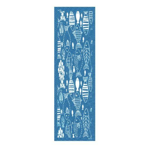 MOIKO Silk Screen-25x7cm-BFishL