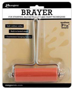 Ranger Soft Rubber Roller or Brayer – 8.5 cm.1Ranger Soft Rubber Roller or Brayer – 8.5 cm.1