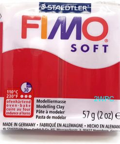 Fimo Soft - Cherry Red