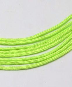 Parachute Cord - Lime Green (per metre)