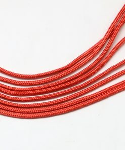Parachute Cord - Red (per metre).1