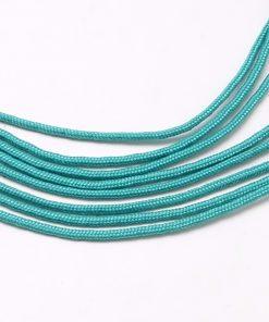 Parachute Cord - Turquoise (per metre).1