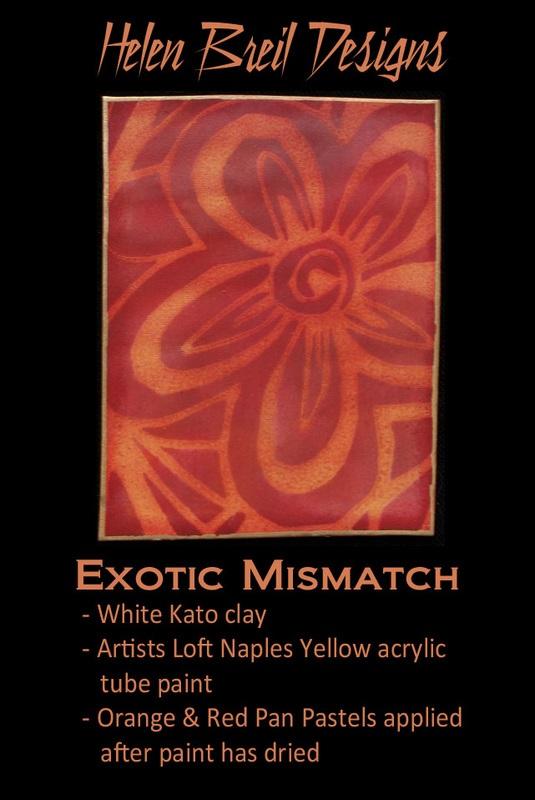 Silk Screen Stencils by Helen Breil - Exotic Mismatch.5
