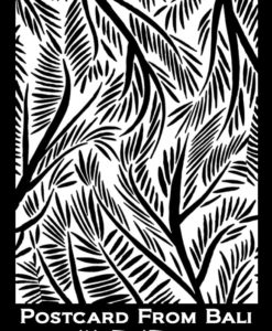 Silk Screen Stencils by Helen Breil - Postcard from Bali