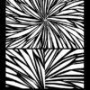 Silk Screen Stencils by Helen Breil - Radiating Rays.1