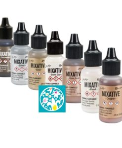 Adirondack® Alcohol Ink Metallic Mixatives Kit, 7_Pkg.3