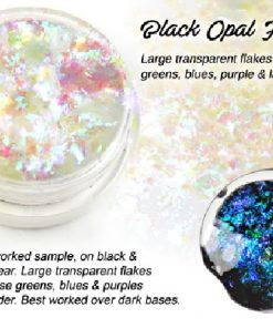 Lumiere Lusters™ - Black Opal Extra Large Dichroic Flake (High Temp)