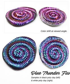Lumiere Lusters™ - Blue Thunder Flake (High Temp).2