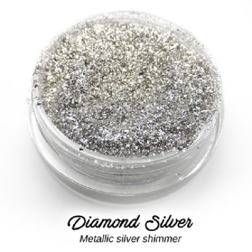 Lumiere Lusters™ - Diamond Silver Metallic Fine Flake (Low Temp)