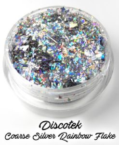 Lumiere Lusters™ - Discotek Coarse Silver Rainbow Flake (Low Temp)