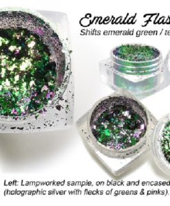 Lumiere Lusters™ - Emerald Flash Flake (High Temp)
