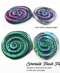 Lumiere Lusters™ - Emerald Flash Flake (High Temp).2