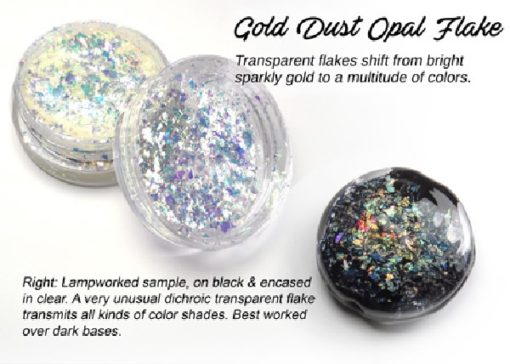 Lumiere Lusters™ - Gold Dust Opal Flake (High Temp)