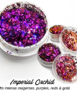 Lumiere Lusters™ - Imperial Orchid Flake (Low Temp)