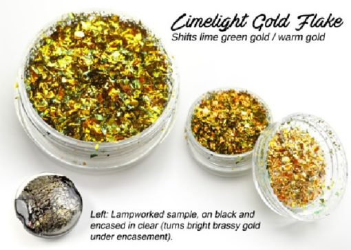 Lumiere Lusters™ - Limelight Gold Flake (High Temp)