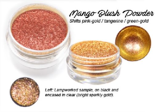 Lumiere Lusters™ - Mango Blush Powder (High Temp)