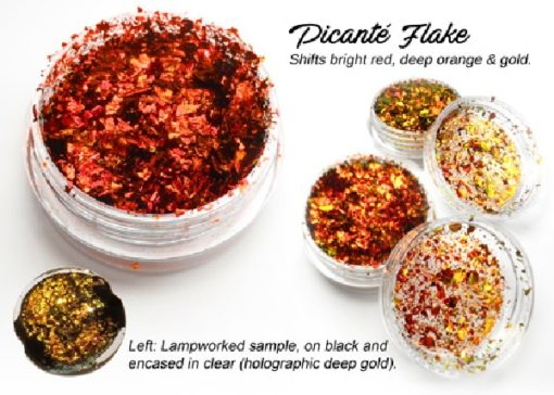 Lumiere Lusters™ - Picante Flake (High Temp)