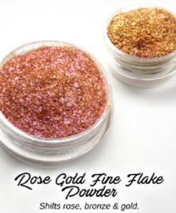 Lumiere Lusters™ - Rose Gold Fine Flake Powder (Low Temp)