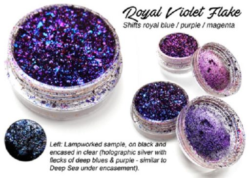 Lumiere Lusters™ - Royal Violet Flake (High Temp)