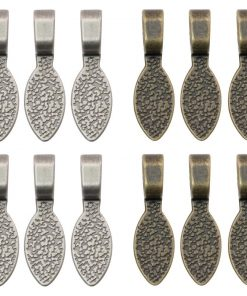 Tim Holtz Jewellery Bails,12 pieces