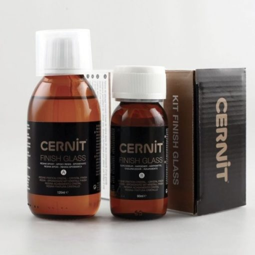 Cernit Kit Finish Glass - 2 part Epoxy Resin