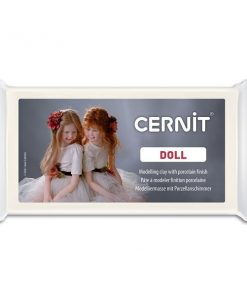 Cernit Doll Polymer Clay, 010 White - 500g