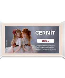 Cernit Doll Polymer Clay, 425 Translucent Flesh - 56g