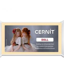 Cernit Doll Polymer Clay, 744 Almond - 56g