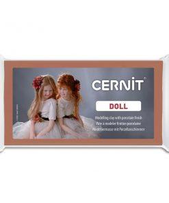 Cernit Doll Polymer Clay, 807 Caramel - 56g