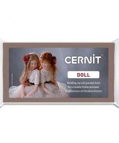 Cernit Doll Polymer Clay, 808 Nougat - 56g