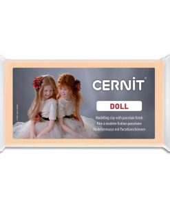 Cernit Doll Polymer Clay, 855 Sun Tan - 56g