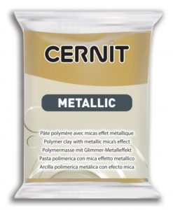Cernit Metallic Polymer Clay, 053 Rich Gold