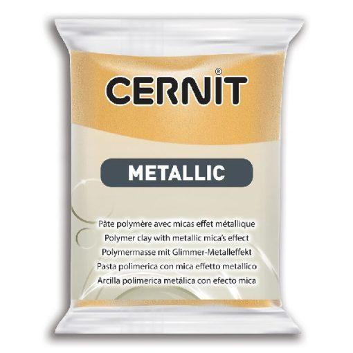 Cernit Metallics Polymer Clay, 050 Gold - 56g
