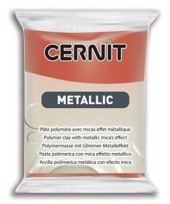 Cernit Metallics Polymer Clay, 057 Copper - 56g