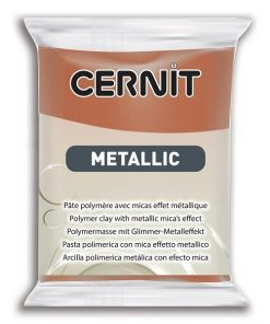 Cernit Metallics Polymer Clay, 058 Bronze - 56g