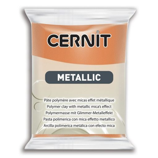 Cernit Metallics Polymer Clay, 775 Rust - 56g