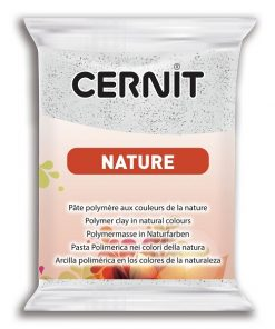 Cernit Nature Polymer Clay, 983 Granite - 56g