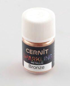 Cernit Sparkling, 058 Metallic Bronze, 5g
