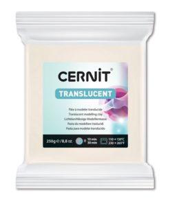 Cernit Translucent Polymer Clay, 005 Translucent - 250g