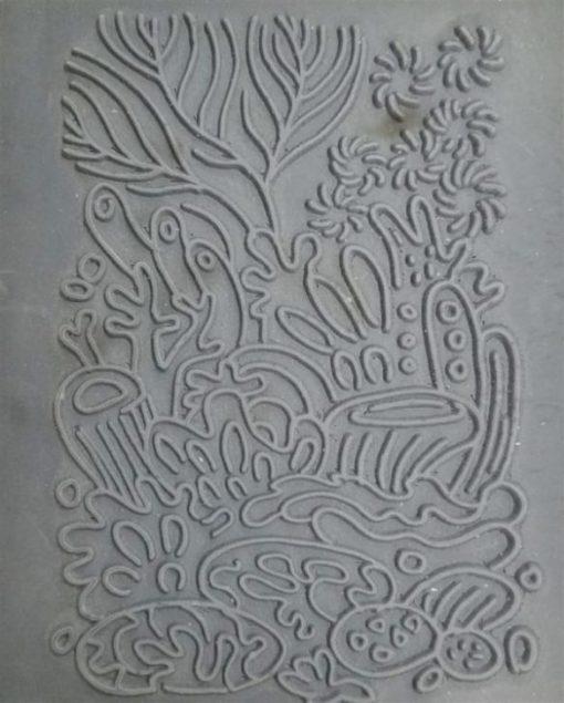Christi Friesen Texture Stamp – Coral Reef