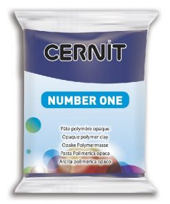 Polymer Clay Cernit Number One, 265 Royal Blue - 56g