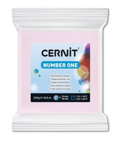 Polymer Clay Cernit Number One, 475 Pink - 250g