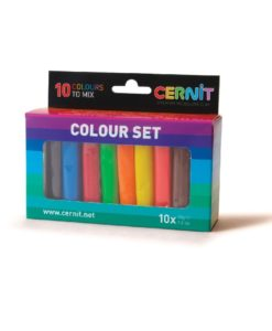 Polymer Clay Cernit Number One, Multi Colour Set - 10 x 30g
