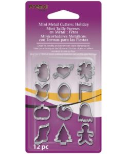 Premo Mini Metal Cutters - Holiday