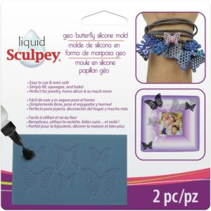 Sculpey® Silicone Bakeable Mould – Geo Butterfly