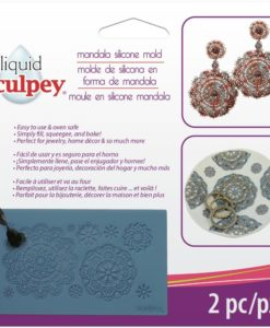 Sculpey® Silicone Bakeable Mould – Mandala.1