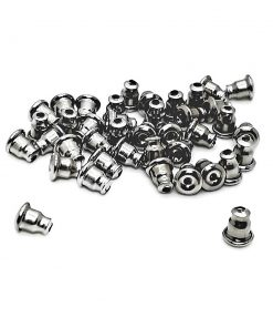 Stainless Steel Bullet Clutch Ear Nuts