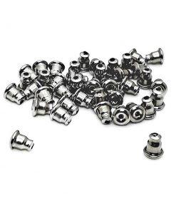 Stainless Steel Bullet Clutch Ear Nuts