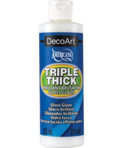 Americana Triple Thick Brilliant Brush on Thick Glaze 236ml