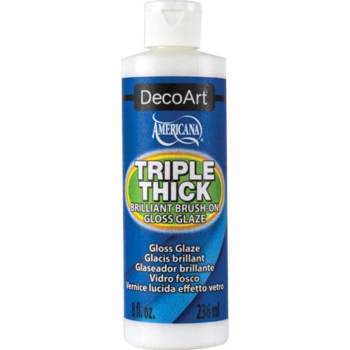Americana Triple Thick Brilliant Brush on Thick Glaze 236ml